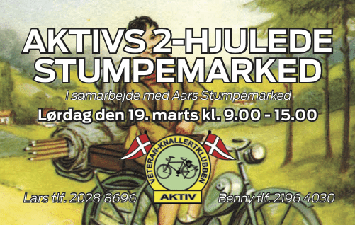 messe 2-hjulet stumpemarked