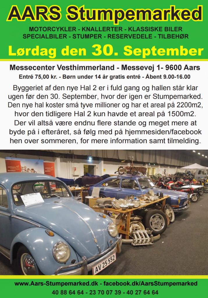 Aars Stumpemarked september 2017